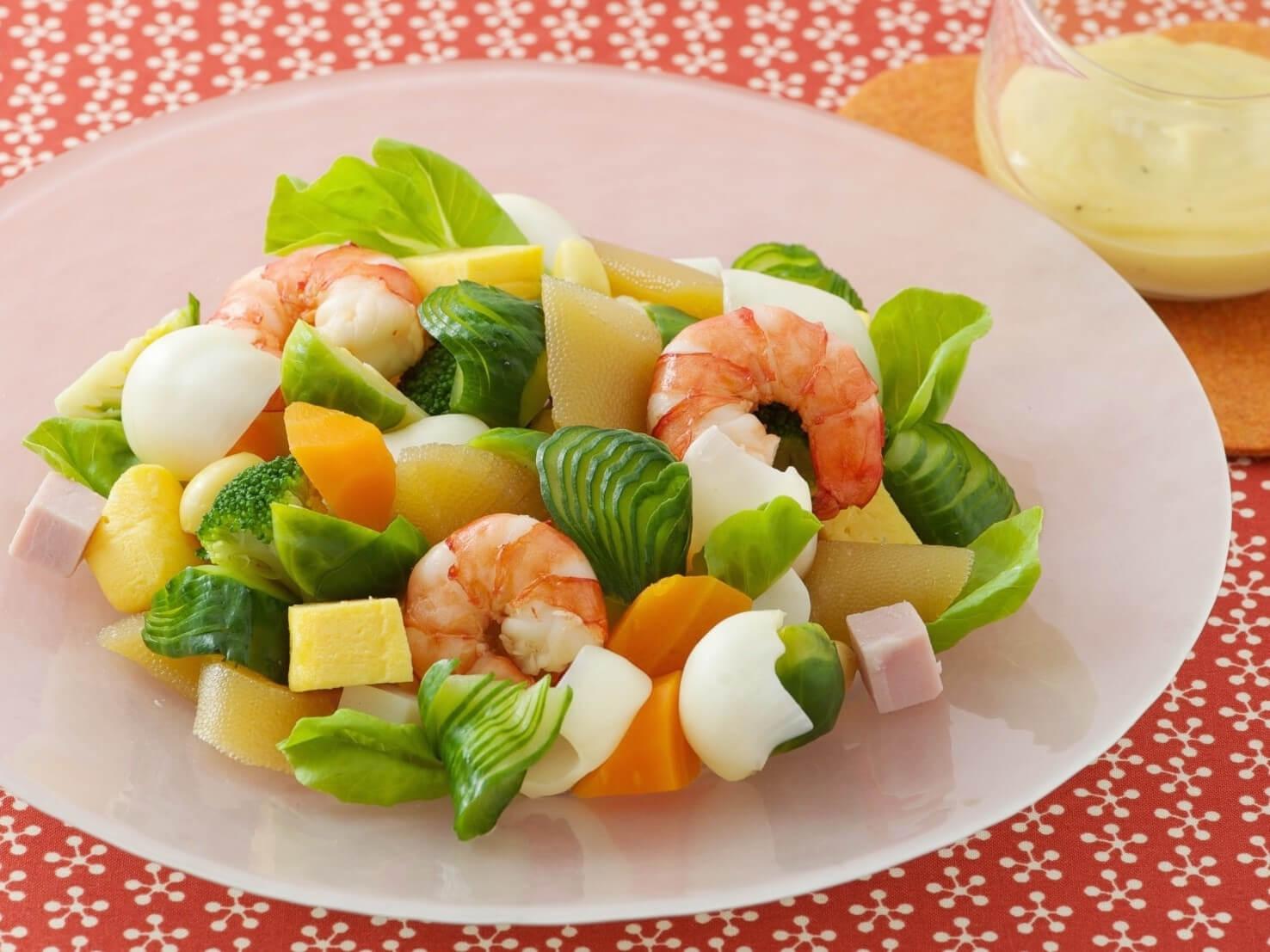 アーモンドのごちそう正月サラダ