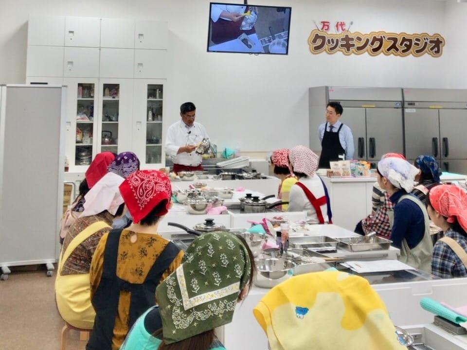 くるみを使ったお料理教室