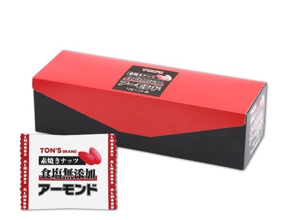 素焼きアーモンド 10g×25袋