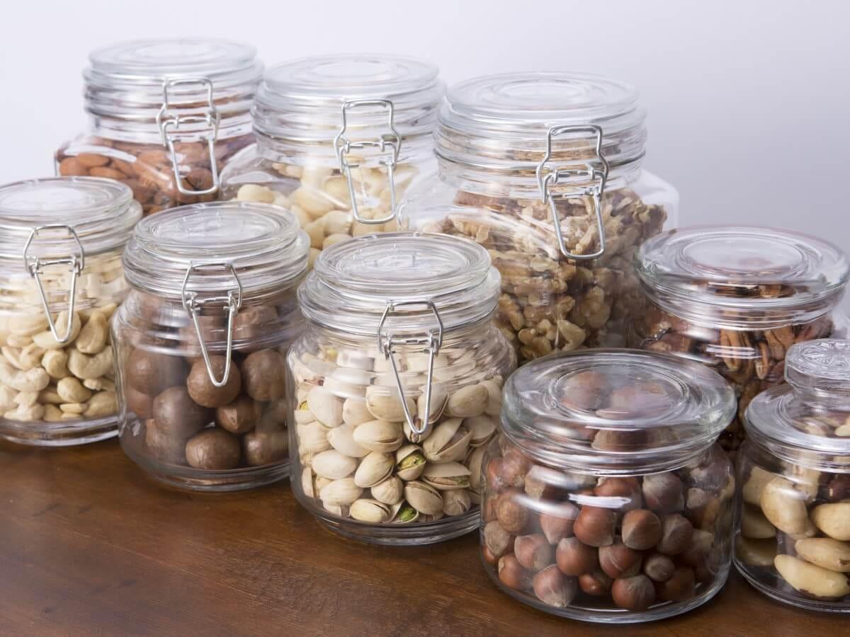 正しいナッツ・ドライフルーツの保存方法について