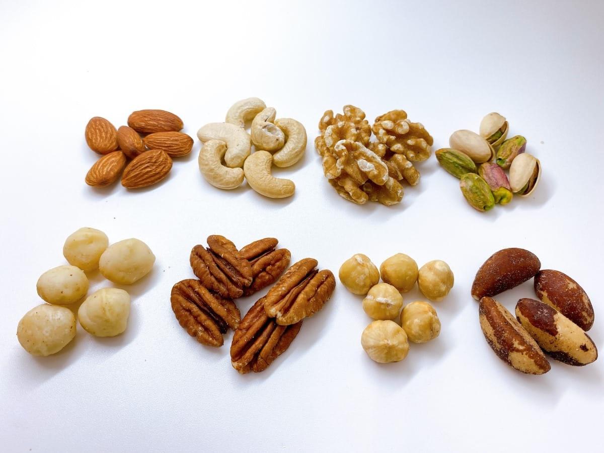 ナッツについてもっと知りたい!種類や特徴を詳しくご紹介します